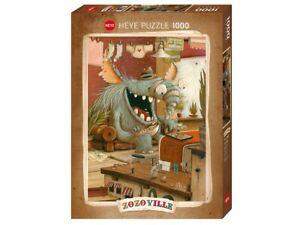 Heye 1000 Piece Jigsaw Puzzle - Zozoville: Laundry Day