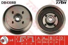 db4308b TRW freno de tambor eje trasero