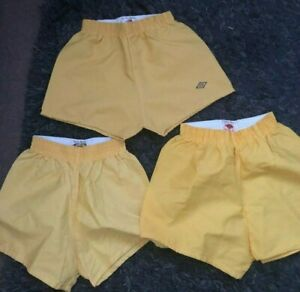 3 X VINTAGE PAIRS OF UMBRO SHORTS 1960S/1970S SMALL