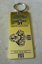 Michael Jackson Keychain Pepsi Backstage Pass Ticket
