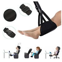 Portable Relief Stress Foot Hammock Home Travel Office Chair Airplane Feet Rest