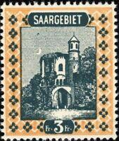 SARRE / SAAR / SAARGEBIET 1922 Yv.99 / Mi.96 3fr - neuf / postfrisch **