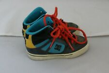 DC Boys High Top Sneakers Shoes - Size 11 - Multi Color