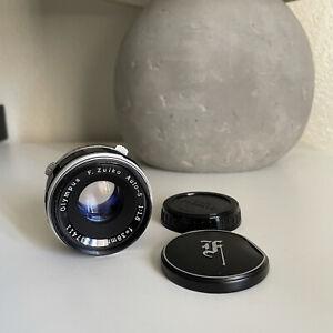 Olympus f.zuiko auto-s 38mm f1.8 for Pen F, FT, FV w caps (as is)