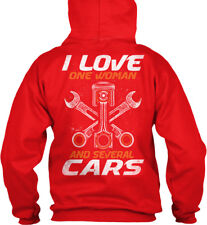Mechanic I Love One Woman - And Several Cars Standard College Hoodie