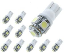 T10 Bombillos LED, 2/4/10, 5050 5SMD 5W5, DC12V, posicion, matricula, Bombillas