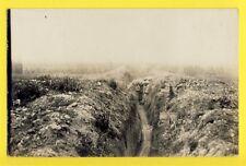 cpa Carte Photo 1915 MANNHEIM GUERRE 14-18 Militaire Soldat Tranchée Allemande ?