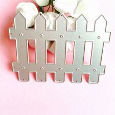 Fence Cutting Dies Metal DIY Stencil For Walls Embossing Craft Dies For Card O
