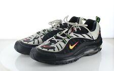 50-64 MSRP $170 Men Sz 10 Nike Air Max Suede Multicolor Sneakers - Black