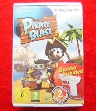 Pirate Blast avec Shooter Nintendo Wii Jeu, NEUF