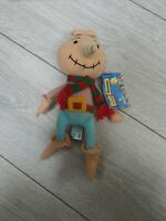 Bob The Builder Spud Original Scarecrow Plush Soft Toy With Tag Beanie