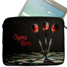 "Personalised Tablet Case DARTS Neoprene Sleeve Cover 7"" 8"" 9"" 10"" SH059"