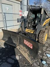 skid steer V Snow Plow