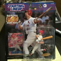 F59 MARK MCGWIRE CARDINALS 500 HOME RUN Starting Line Up NIB FREE SHIPPING