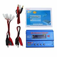 iMAX B6 Lipo NiMh Li-ion Ni-Cd RC Battery Balance Digital Charger Discharger New