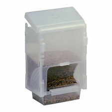 Pet Ting 1kg Economy Seed Hopper Feeder Gravity Feeder Finch Canary Budgie