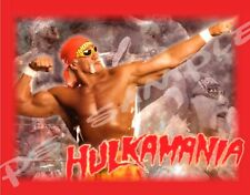 Hulk Hogan Wwf - Hulkamania - Flexible Fridge Magnet