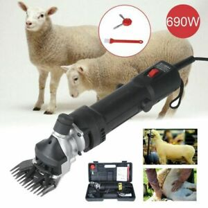 Ensemble de tondeuse à mouton Tondeuse électrique pour Animal Chèvres Alpaga