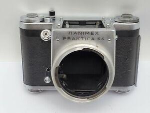 Rare -  Hanimex Praktica 66 (Pentacon Six) SLR Camera Body Only - Works CLA'd