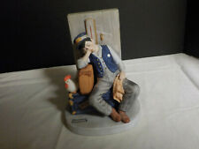 """Asleep on the Job"" The 12 Norman Rockwell Porcelain Figurines Sep 1980"