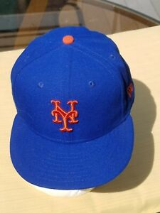 New York Mets - On Field  Fitted cap / hat  - New Era 59fifty -  size 7.5