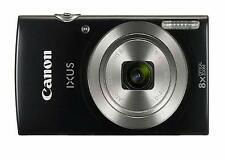 Canon IXUS 185/Elph 180 Black Digital Compact Camera