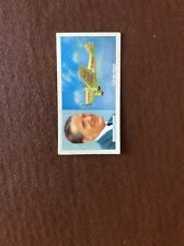 Cigarette Card Carreras Famous Airmen & Airwomen No 46 Thomas Rose