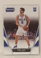 2016-17 Panini Threads Dario Saric Rookie Card #179 Philadelphia 76ers RC