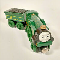 Wooden Emily Train & Tender Thomas & Friends Train Railway Set fits Brio