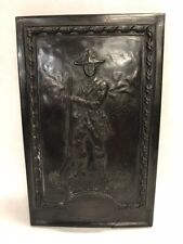 Vintage wall hanging New Hampshire 1782 soldier Cast England