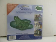 Donna Dewberry's Frogs & Lilly Pads Wall Decals Stickers Wallpaper Cutouts NIP