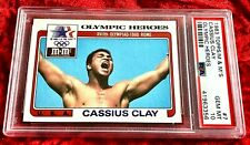 1983 TOPPS M&M'S GOLD OLYMPIC HEROES MUHAMMAD ALI CASSIUS CLAY #7 PSA 10