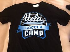 New mens adidas Ucla Bruins soccer camp tshirt t shirt size small 100% cotton