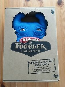 Fugglers - Funny Ugly Monsters - Blue Sir Horns A Lot - 22cm