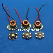 LED Cree XML T6 U2 10W LED emisor 20MM aluminio placa de circuito impreso + entrada 12V LED Driver
