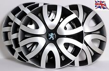"PEUGEOT 107,206,306,309,Partner.....14"" WHEEL TRIMS, COVERS, HUB CAPS,model FA15"