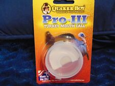 New Quaker Boy Pro-Iii Turkey Mouth Call