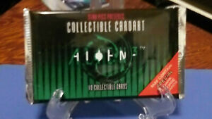 ALIENS 3 MOVIE Trading Cards 4 unopened sealed packs STAR PICS 1992