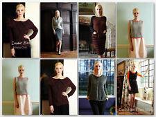 Debbie Bliss Milano Chic Book-six beautiful knitting patterns