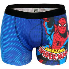 NEW OFFICIAL Marvel Comics Amazing Spider-Man Retro Mens Boxer Shorts Boxers