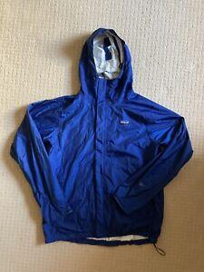 Patagonia Torrentshell 3l H2no Blue 2010 Rain Jacket