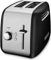 KitchenAid 2-Slice Toaster with Manual Lift Lever | Onyx Black