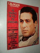 LSI 2260 (18/10/75) AL PACINO GERARD LENORMAN MICHEL SARDOU INGRID BERGMAN RIVA