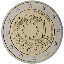 Cyprus 2015 - 2 Euro Comm - 30th Anniversary of the European Flag (UNC)