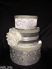 Wedding Money Box/ card box/ Money Gift Box/ Wedding Box White