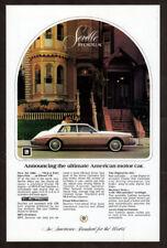 1981 CADILLAC Seville Vintage Original Print AD Brown white ultimate american
