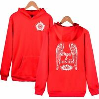Supernatural Angel And Hunter Hoodies Brand Fashion Clothing For Men And Women