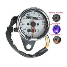 FOR Harley-Davidson LED Backlight Motorcycle Dual Odometer Speedometer Gauge New