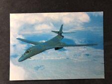 Vintage Real Photo Postcard: Air #A91 Prototype Rockwell International B-1