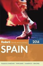 Fodor's Spain 2014 (Full-color Travel Guide)-ExLibrary